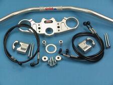 Abm Superbike Booster Lenker-Kit Aprilia SL 1000 Falco (Pa) 00-ff Argento
