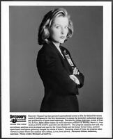 ~ Gillian Anderson of The X-Files Original 1990s Promo Photo Spies Above