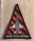 US Navy VF-43 Challengers Squadron Patch 1990's