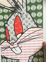 AP MISAKO Street Art signée Numérotée et datée, Mickey Mouse LV No Banksy