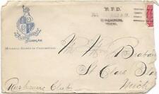 """1903 Birch Run, MI """"RFD"""" via Steamboat"""