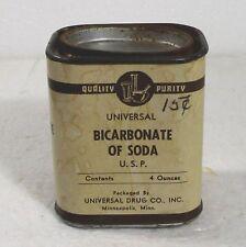 Empty Bicarbonate of Soda tin 4oz antique/vintage R.C. Can Co. St. Louis, Mo mjc