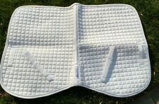 "Blue Ribbon Blankets Saddle Pad - white - 36"" x 25"""