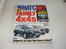WHAT CAR ?   MAGAZINE  SEPTEMBER     2000    ENGLISH MONTHLY