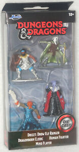 DUNGEONS & DRAGONS Die Cast Figurines (Jada Toys) DRIZZT & BEHOLDER SETS COMBO