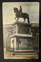 1919 William III College Green Dublin Ireland Real Picture Postcard RPPC Cover