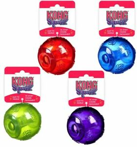 KONG SQUEEZZ BALLS LARGE ALL COLOURS BRAND NEW ON CARD ONLY £7.95  FREE POST.