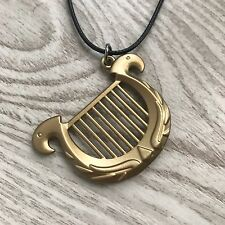 COLLAR ZELDA ARPA - HARP NECKLACE PENDANT THE LEGEND OF ZELDA SNES NES NINTENDO