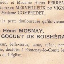 Laurence Marie Goguet De Boisheraud Henri Mosnay 1887