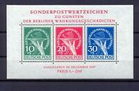 Berlin Block 1 Währungsgeschädigte postfrisch tiefst geprüft Schlegel (ws80)