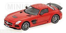 Mercedes-Benz SLS AMG Coupe Noir Série 2013 rouge rouge Ed. 500 pcs. 1:43