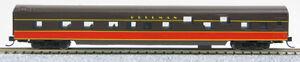 "N Smooth Side Passenger Sleeper ""Illinois Central"" (Brown/Orange) (1-40099)"