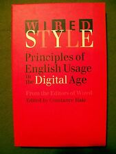 Wire Style: Principles of English Usage in the Digital Age by Constance Hale