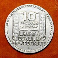 KM# 908.2 - 10 Francs - France 1946B (VF)