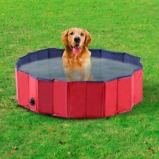 Perro Mascota Natación Infantil Piscina Exterior Baño Plegable Portátil Cachorro