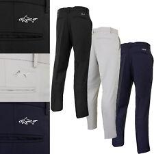 Greg Norman Mens Flat Front Pant Plain Golf Trousers
