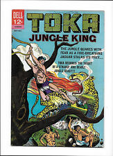 TOKA #4  [1965 VG+]  AWESOME JAGUAR-TANK COVER!
