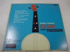 Bill Jones - Ping Pong Banjo And Percussion - Promenade Records Mono