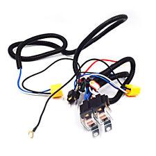 Ceramic H4 Headlight Relay Wiring Harness 2 Headlamp Light Bulb Socket Helpful
