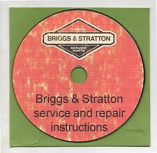 Briggs and Stratton Modern Small Engine Manuals on CD-ROM