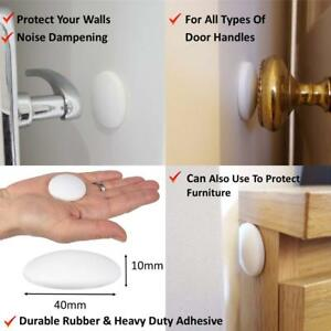 1 Wall Protector Pad 40mm x 10mm White Protect Your Walls Noise Dampening