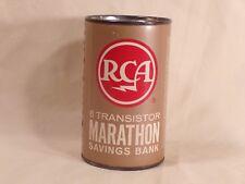 Vintage RCA Pocket Radio ? 8 Transistor MARATHON Savings Bank Advertising