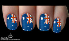 Australia Day Australian Flag Nail Art Sticker Water Transfer Decal Tattoo 06