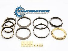 T56 Corvette GTO CTS 1-6-R Carbon Synchro Synchronizer Set + Bronze Fork Pads