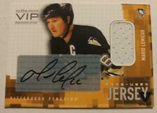 2015-16 ITG Final Vault Mario Lemieux Jersey Auto 2003-04 In The Game VIP /20