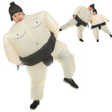 Funny Inflatable Sumo Wrestling Costume Blow up Wrestler Suits Beach Party Games