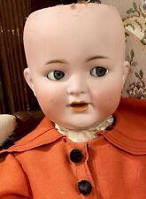 "24"" Antique C1910 Kammer Reinhardt 126 Flirty Character Toddler Doll w/SideHip"