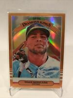 2019 Panini Donruss Optic Baseball Orange Prizm Diamond Kings Yoan Moncada /99