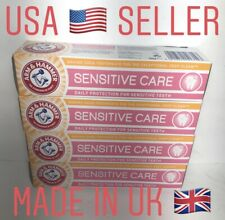 Arm And Hammer Sensitive Care Toothpaste Made In UK Lots Of 4 Fast Free Shipping