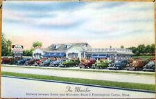 1940 leinen postkarte: maridor restaurant framingham center, massachusetts, ma 2