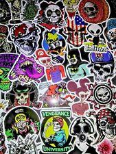 Set of 50 ! Sticker, Decals, Vinyl, Horror, Zombie, Skull, Spitfire, Halloween