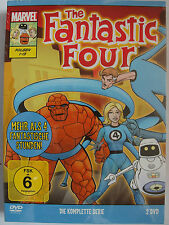 Fantastic Four - Komplette Serie - Marvel Anime - Silver Surfer, Herbie Roboter