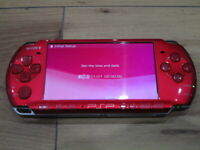 Sony PSP 3000 Console Radiant Red Japan M973