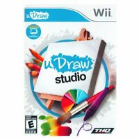 uDraw Studio (uDraw Game Tablet) Disc, case, instructions only Nintendo Wii