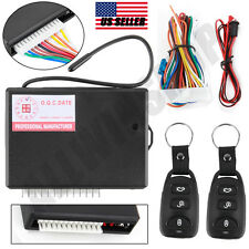 Universal Car Remote Central Kit Door Lock Vehicle Keyless Entry System Tn