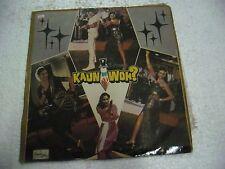 KAUN HAI WHO KAMALKANT 1983 suspense thriller RARE LP RECORD BOLLYWOOD VG+