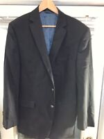 Calvin Klein 42 Long slim fit 2 Button Navy Blazer CK All Season Side Vent