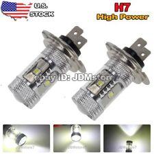 2x White 6000K H7 High Power 30W LED Car Fog Lights DRL Driving LED Bulbs