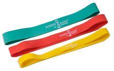 3er Set - Dittmann Rubber Band / MiniBand / Gymnastikband / Fitnessband