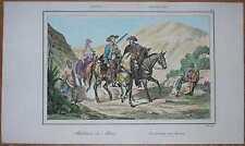 1837 print BRAZIL: INHABITANTS OF MINAS GERAIS (#35)