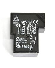 2pc Hsin Da Power Relay 953-1C-12DG-1 SPDT (1C) NO=30A NC=20A @240VAC Coil=12V