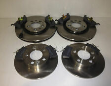 VW GOLF MK4 FRONT AND REAR BRAKE DISCS AND PADS 98-03 280MM