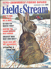 1/1970 Field and Stream Magazine