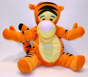 Fisher Price Soft N' Silly Tigger Stuffed Winnie the Pooh Plush 2001 Baby Toy