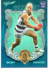 2010 Select AFL Prestige Card Series Medal Card MC1 Gary Ablett (Brownlow)