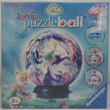 RAVENSBURGER 2007 DISNEY FAIRIES TINKERBELL PUZZLE BALL 96 Pcs 5'' DIAMETER MISP